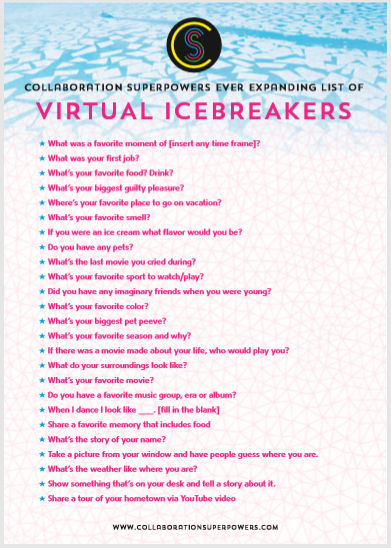 Virtual Icebreakers